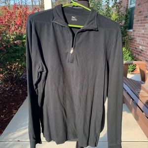 Mens meduim quarter zip shirt by Gap